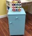 Arrow Blue Suzi Sewing Storage Cabinet