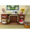 Arrow Bandicoot Teak Sewing Cabinet