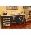 Arrow Norma Jean Black Sewing Cabinet